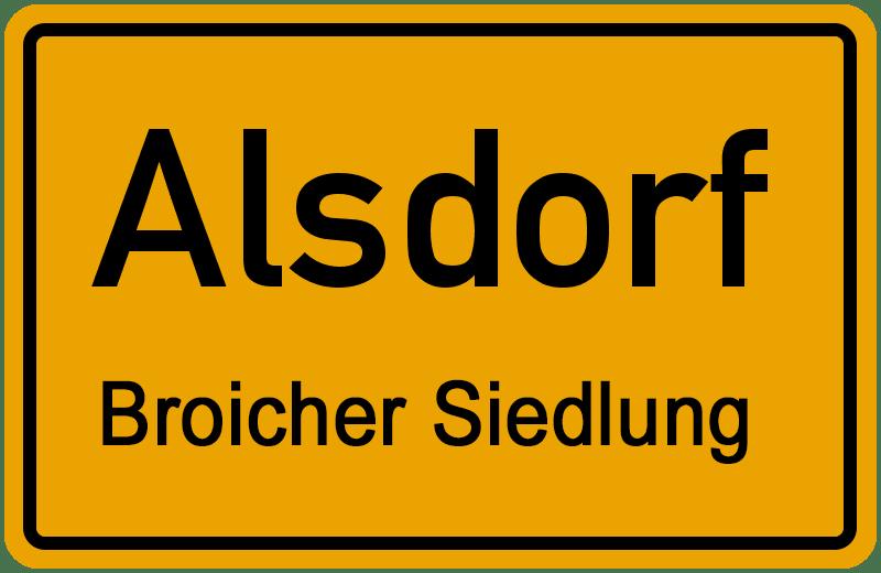 broicher-siedlung